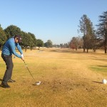 Dwain Margro in Action at Benoni Lake
