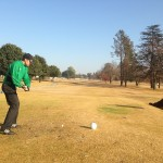 Gareth Greensill in Action at Benoni
