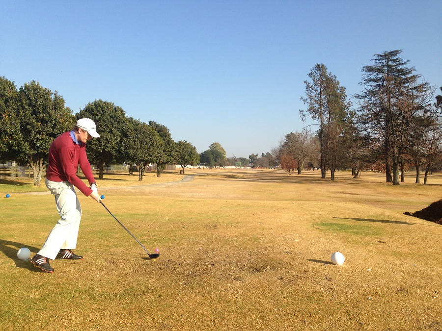 Grant Moolman in action at Benoni Lake