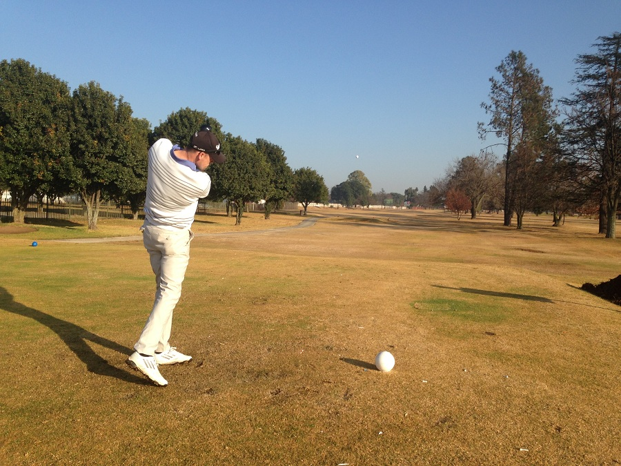 Marcel Du Plessis in Action at Benoni