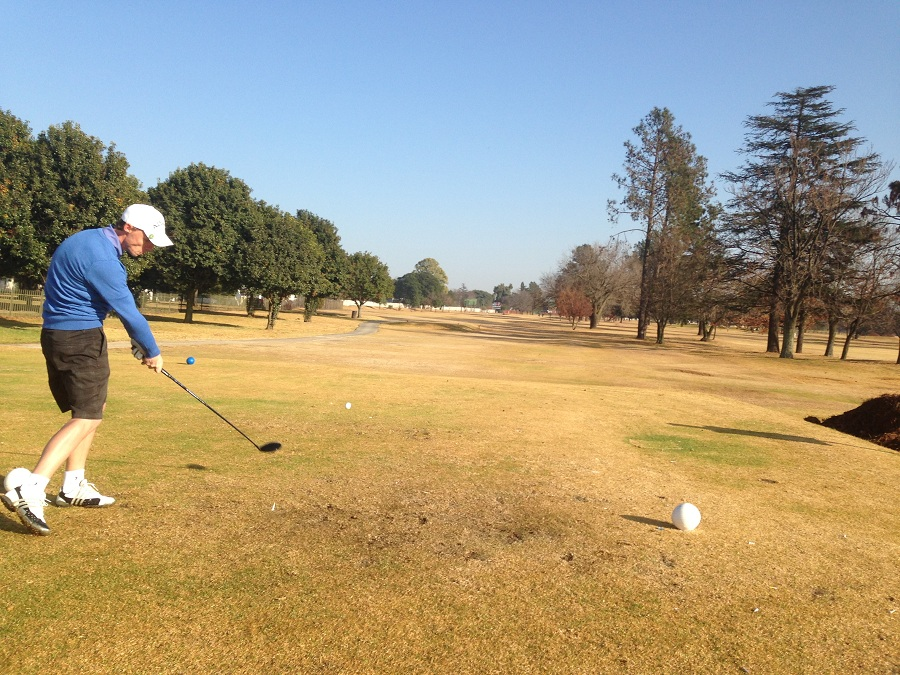 Wayne Aitken shows the Tour how its done at Benoni Lake
