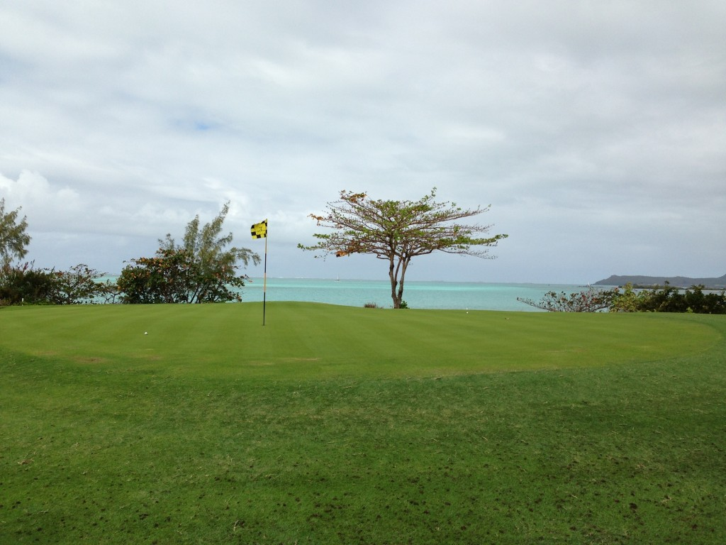 International Golf at its best - Le Touessrok Golf Course Mauritius